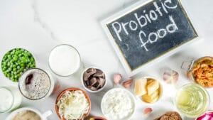 Mostra esempi di alimenti che contengono probiotici